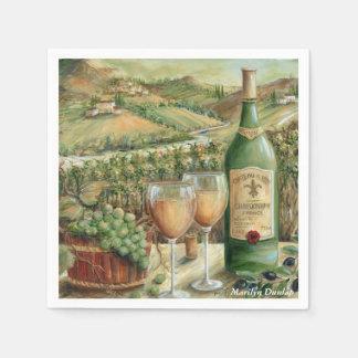 白ワインの恋人 スタンダードカクテルナプキン