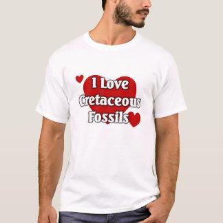 白亜の化石 Tシャツ