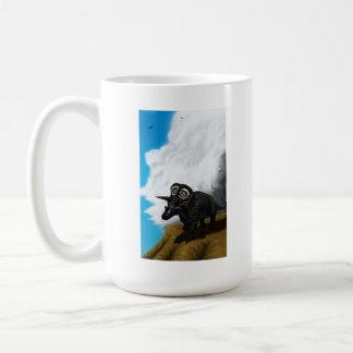 白亜の雷マグ コーヒーマグカップ