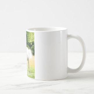 白人のアラビア人 コーヒーマグカップ