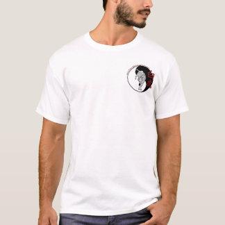 白人のトラの武道アカデミー-旅行 Tシャツ