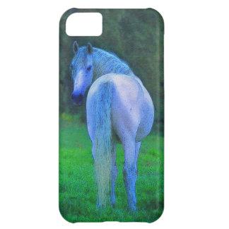 白人のロバの馬好きのiPhone 5の場合 iPhone5Cケース