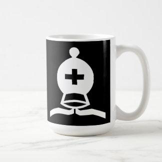 白人の司教 コーヒーマグカップ