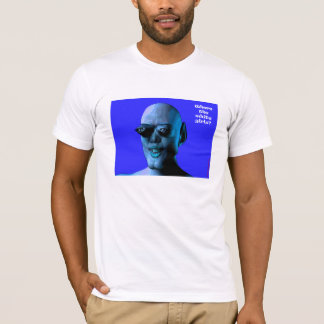 白人の女の子か。 Tシャツ