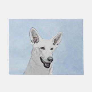 白人の羊飼い ドアマット
