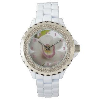 白人の蘭の女性用腕時計 腕時計