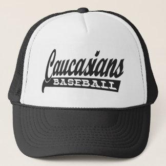 白人の野球 キャップ