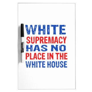白人優越主義のデザイン ホワイトボード
