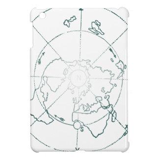白北極AEは地図を描きます iPad MINI CASE
