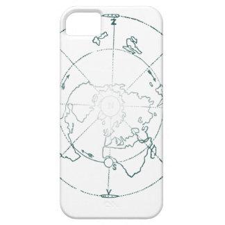 白北極AEは地図を描きます iPhone SE/5/5s ケース