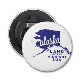白夜|のバイオレットのアラスカ|の土地 栓抜き