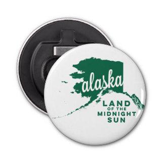 白夜|の緑のアラスカ|の土地 栓抜き