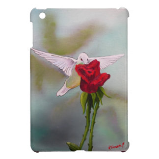 白子のハチドリが付いている場合の精通したiPad Miniケース iPad Miniカバー
