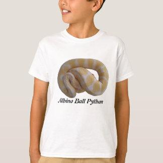 白子の球の大蛇はTシャツをからかいます Tシャツ