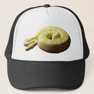 白子の球の大蛇 キャップ