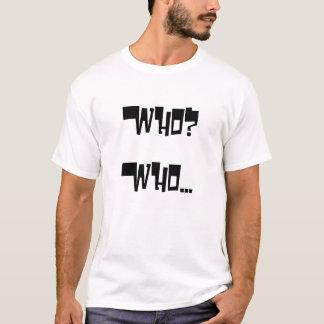 白子の黒人 Tシャツ