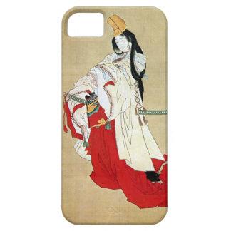 白拍子、Hokusai、Ukiyo-e、北斎のShirabyōshiのダンサー iPhone 5 ケース