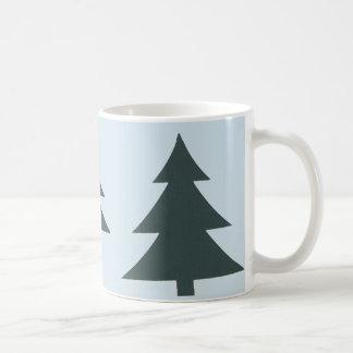 白松の木が付いている11のozのクラシックなマグ コーヒーマグカップ