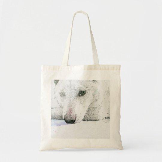 白柴のバッグ トートバッグ