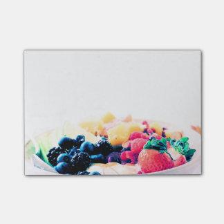 白熱デザート用深皿の朝食用食品の軽食の栄養物は死にます ポストイット