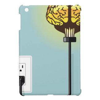 白熱プラグを差し込まれた頭脳 iPad MINIケース