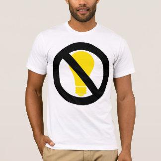白熱球根無し Tシャツ