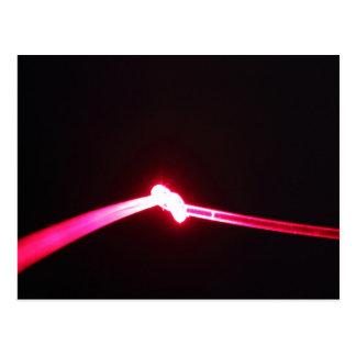 白熱[赤熱]光を放つなつながり ポストカード