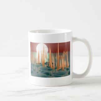白熱[赤熱]光を放つなスパイク コーヒーマグカップ
