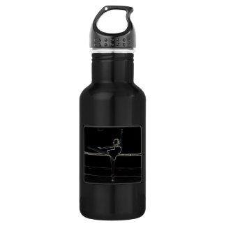 白熱[赤熱]光を放つなバレリーナ ウォーターボトル