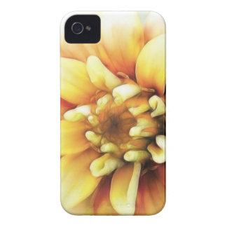 白熱[赤熱]光を放つな金《植物》百日草 Case-Mate iPhone 4 ケース