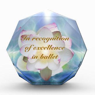 白蓮教のバレエの卓越性 表彰盾