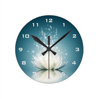 白蓮教の魔法の柱時計 ラウンド壁時計