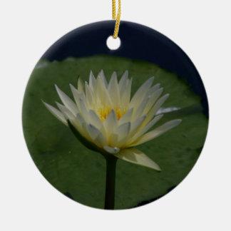 白蓮教の《植物》スイレンの花 セラミックオーナメント
