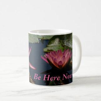 白蓮教の《植物》スイレン コーヒーマグカップ