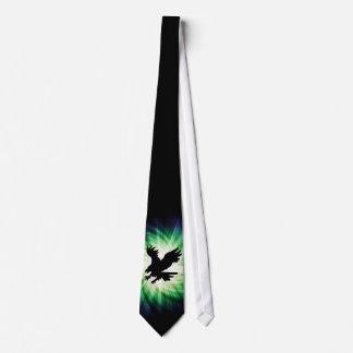 白頭鷲のシルエット; カッコいい ネクタイ