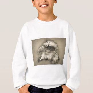白頭鷲のスケッチ スウェットシャツ