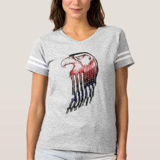 白頭鷲のスケッチ Tシャツ
