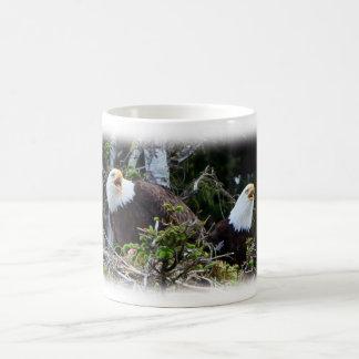 白頭鷲のマグ コーヒーマグカップ