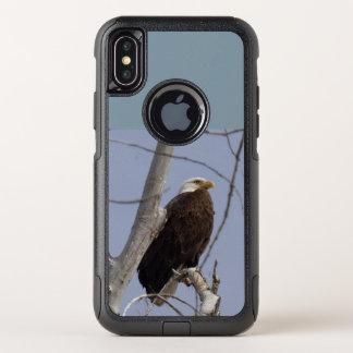 白頭鷲の携帯電話の箱 オッターボックスコミューターiPhone X ケース