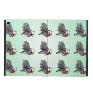 白頭鷲の狩りの犠牲米国のスカーフ POWIS iPad AIR 2 ケース