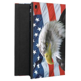 白頭鷲の米国旗 iPad AIRケース
