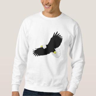 白頭鷲の飛行 スウェットシャツ