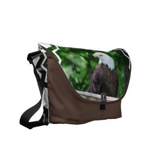 白頭鷲の鳥のメッセンジャーバッグ メッセンジャーバッグ