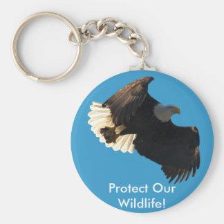 白頭鷲飛行コレクションII キーホルダー