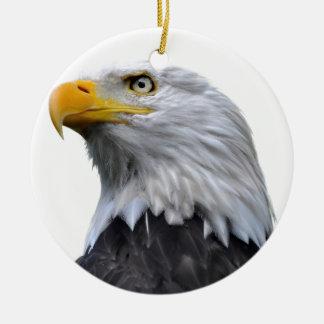 白頭鷲 セラミックオーナメント