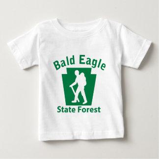 白頭鷲SFのハイキング(男性) ベビーTシャツ