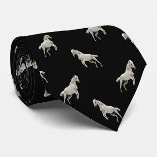 白馬のダイヤモンドパターンタイ ネックウェアー