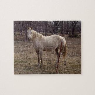 白馬のパズル ジグソーパズル