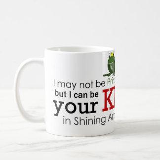 白馬の王子様マグ コーヒーマグカップ