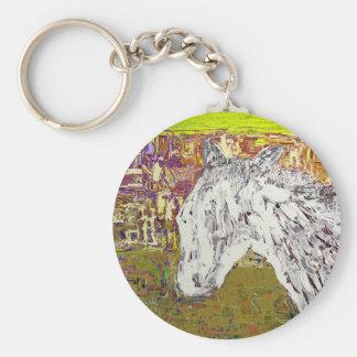 白馬 キーホルダー